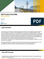 SAP Product Road MapforDataHub