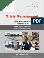 Crisis Management Course-Slides