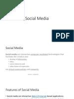Social Media Cyberspace Bangalore University