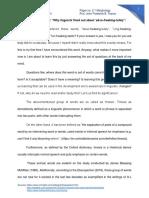 Paper 2.1 Morphology