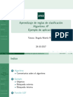 aprendizaje automatico Aq Algoritmo Ejemplo 2017-2018