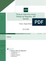 Arboles de Regresion Ejemplo 2016-2017