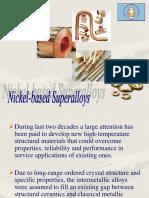 Nickel-based Superalloys