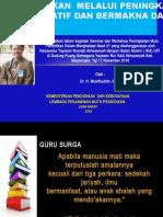 Bhn Seminar Tgl 17 Nop Mjlk Dr. Muslih Lpmp