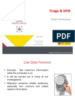 Triage _ Live Data Forensics