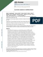 Abedalthagafi et al. - 2015 - ARID1A and TERT promoter mutations in dedifferentiated meningioma.pdf