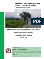 Final Feasibility Report Improvement of Talchowk Begnas Road (P23.i)