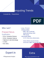Current Computing Trends