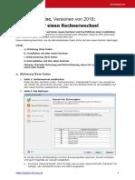 Anleitung Rechnerwechsel Plus-Reihe V06 2016
