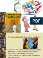 Decision-making and Problem Solving