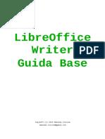 Writer-guida Base Italiano