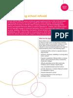 School Refusal Information Sheet