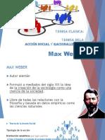 2_Teoría Dela Acción Social y Racionalización Max Weber_Administración