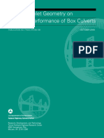 FHWA - Effects of Inlet Geometry on Hydraulic Performance of Box Culverts (2006)