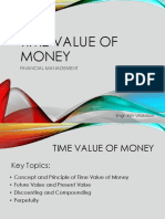 Time Value of Money (1)