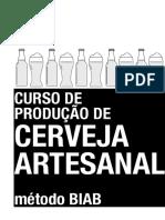 Curso produção de cerveja metodo BIAB