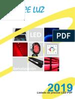 201902 Avance Luz Tarifa Pvp Led 2019