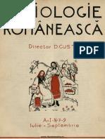 Sociologie românească  Revista Secţiei Sociologice a Institutului Social Român, 01, nr. 07-09, iulie-septembrie 1936.pdf