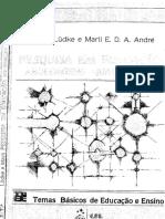 354315538 LUDKE Menga ANDRE Marli Pesquisa Em Educacao Abordagens Qualitativas PDF PDF