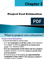 Chapter 2. Project Cost Estimation'17.Ppt. (2)