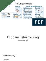 Exponential Verteverteilung