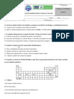 Recurso Quimica 9ºano 16 17