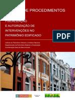 Manual de Fiscalização e Autorização de Intervenções No Patrimônio Edificado