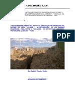 Linea de Base Del Ambito Del Proyecto Ampliación y Mejoramiento Del Sistema de Agua Potable y Alcantarillado en Los Barrios Magisterial Zona Oeste y Pancaquia Del Distrito de Azángaro
