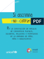 Si Discrimina no da compartir