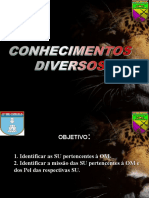 Conhecimentos Diversos - B103 - Org da OM OK.ppt