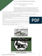 Brevísima Historia de La Pipa. Club de Pipafumadores Del Uruguay Urupipas 2001