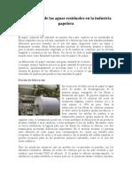 Tratamiento de las aguas residuales en la industria papelera.docx