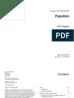 Paul Taggart - Populism-Open University Press (2000)