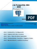 Curso de Postgresql 2010