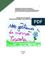Subsidios Avaliacao Contexto Escolar