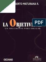 la objetividad  Humerto Maturana.pdf