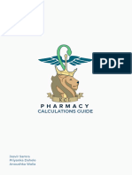 Pharmaceutical Calculations Guide