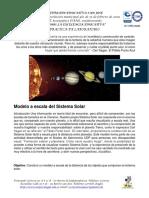 Taller Distancias Sistema Solar