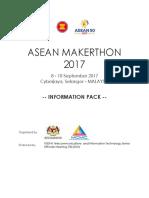ASEAN Makerthon Info Pack