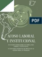 Acoso Laboral e Institucional