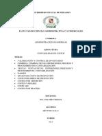 Valorización y Control de Inventarios.