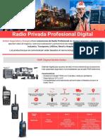 Radio Privada Profesional Digital - AMBAR Seguridad y Energia