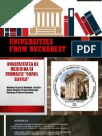 Universities From Bucharest