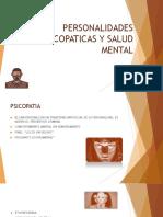 PERSONALIDADES PSICOPATICAS Y SALUD MENTAL