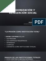 Prisionización y reinserción social