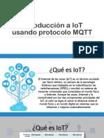 Introducción a IoT Usando Protocolo MQTT
