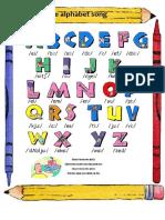 Ficha de Inglês - Alphabet