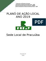 Plano Anual de Trabalho Pracuúba 2019
