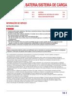 manual de servicio de honda tornado 250 Bateria portugues
