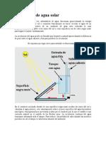 Proyecto Del or de Agua Solar